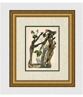 960 Salvador Dali Suicides Original Woodcut