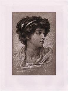 Frederic Leighton Gipsy 1889 print