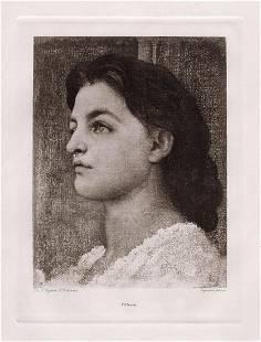 Frederic Leighton Vittoria 1893 print