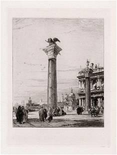 Richard Parkes Bonington Column of St. Mark, at Venice