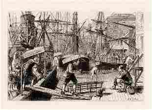 Matthew White Ridley Orange Wharf London Bridge signed