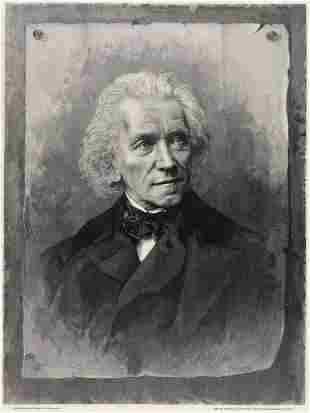 Moritz Klinkicht Ludwig Richter woodcut signed