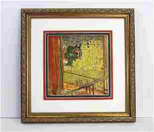 Pierre Bonnard L'Atelier du Cannet, Le Mimosa Atelier