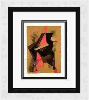 LIMITED Marino Marini SIGNED 1959 Lithograph Cavalier