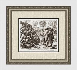 Raphael 1649 Engraving Vatican Joseph's Dreams