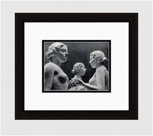 Erwin Blumenfeld Nude Sculpture IV - Aristide Maillol