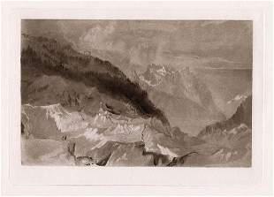 Joseph Mallord William Turner The Mer De Glace 1885