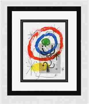 "Original 1965 JOAN MIRO Lithograph ""Peintures sur"