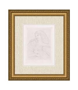 Dante Gabriel Rossetti A Study 1884 print