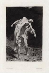 Alexandre Falguiere Cain and Abel (Cain et Abel) 1876