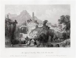 1843 Thomas Allom The Imperial Travelling Palace at the