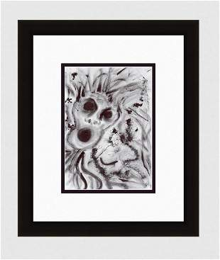 Patrick Mcdowell Faces #42 (Anger) Ink on paper signed