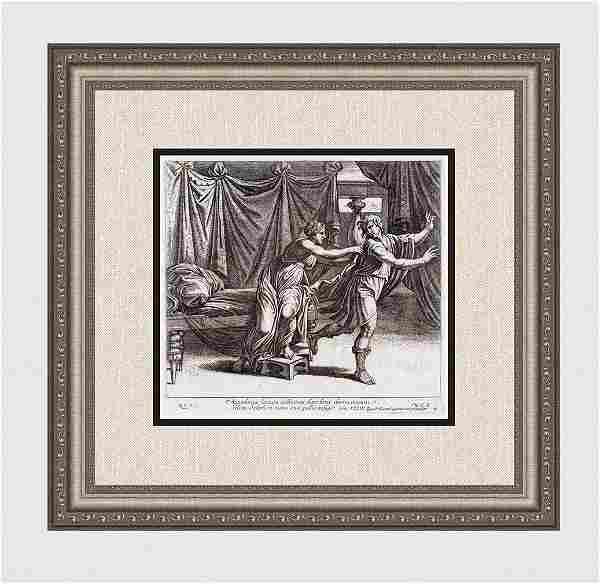 Raphael 1649 Engraving Vatican Joseph and the