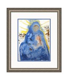 Salvador Dali Biblia Sacra 1967 Virgin Mary Lithograph