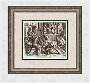 Raphael 1649 Engraving Vatican Solomon's Temple