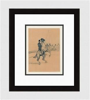 Toulouse Lautrec Color Lithograph Circus Ltd ed