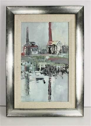 Alastair Elkes Jones The Industrial Age 2000 painting