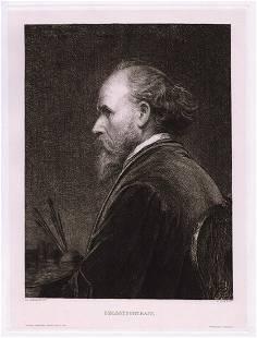 Friedrich von Amerling Selbst Portrait (Self Portrait)
