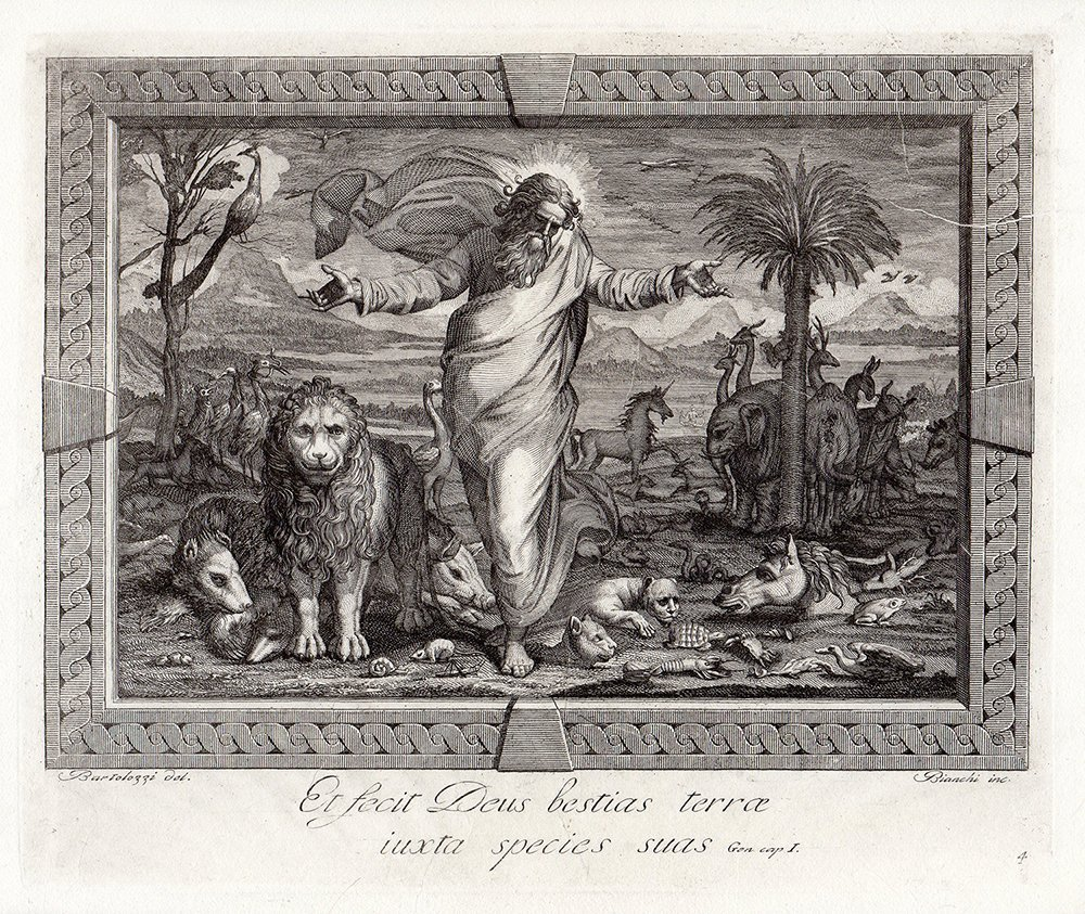 Raphael 1791 Religious etching Jesus