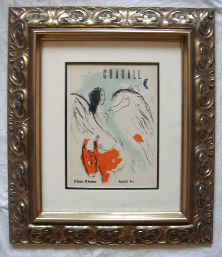 Marc Chagall Kunsthalle Bern Lithograph