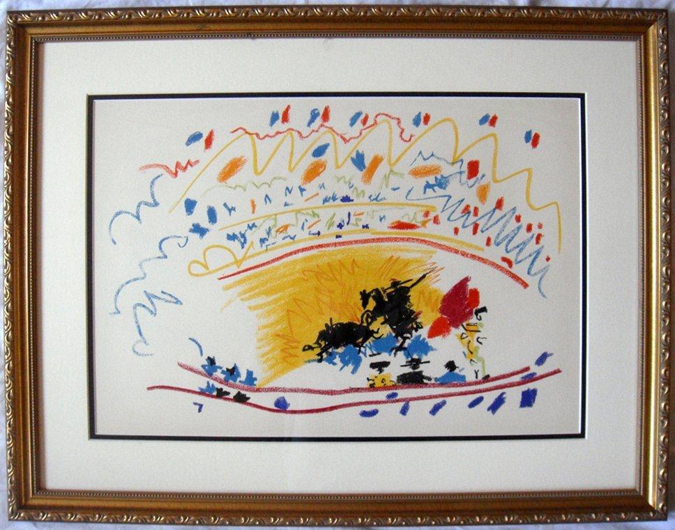 Pablo Picasso Petite Corrida Lithograph