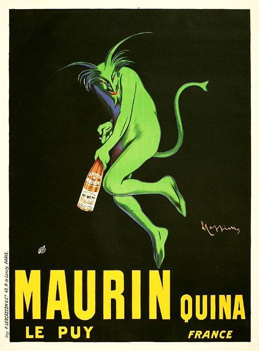 Cappiello Antique Poster Maurin Quina