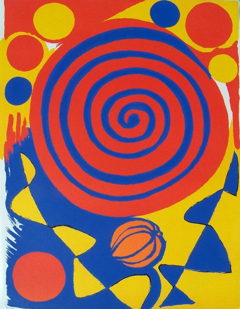 Alexander Calder original Color Lithograph