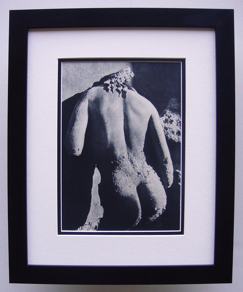 Herbert List photogravure framed and matted