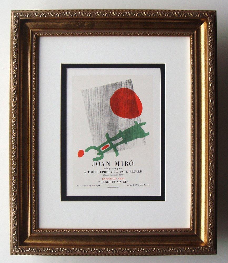 Joan Miro A Toute Epreuve lithograph