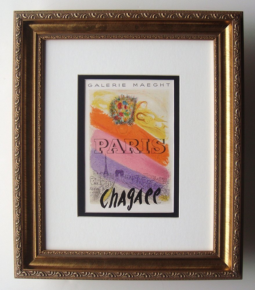 Marc Chagall Maeght Gallery lithograph