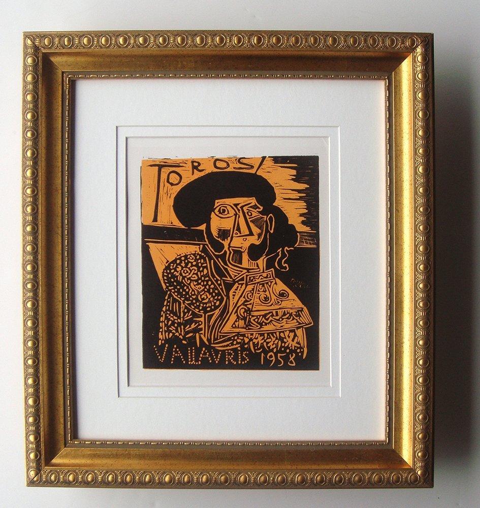 Pablo Picasso Toros 1958 lithograph
