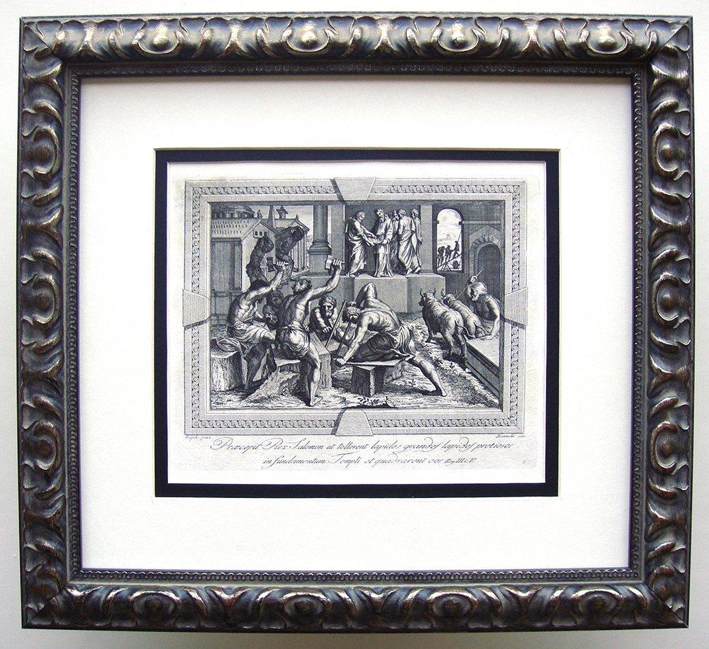 Raphael Soloman the King engraving 1791