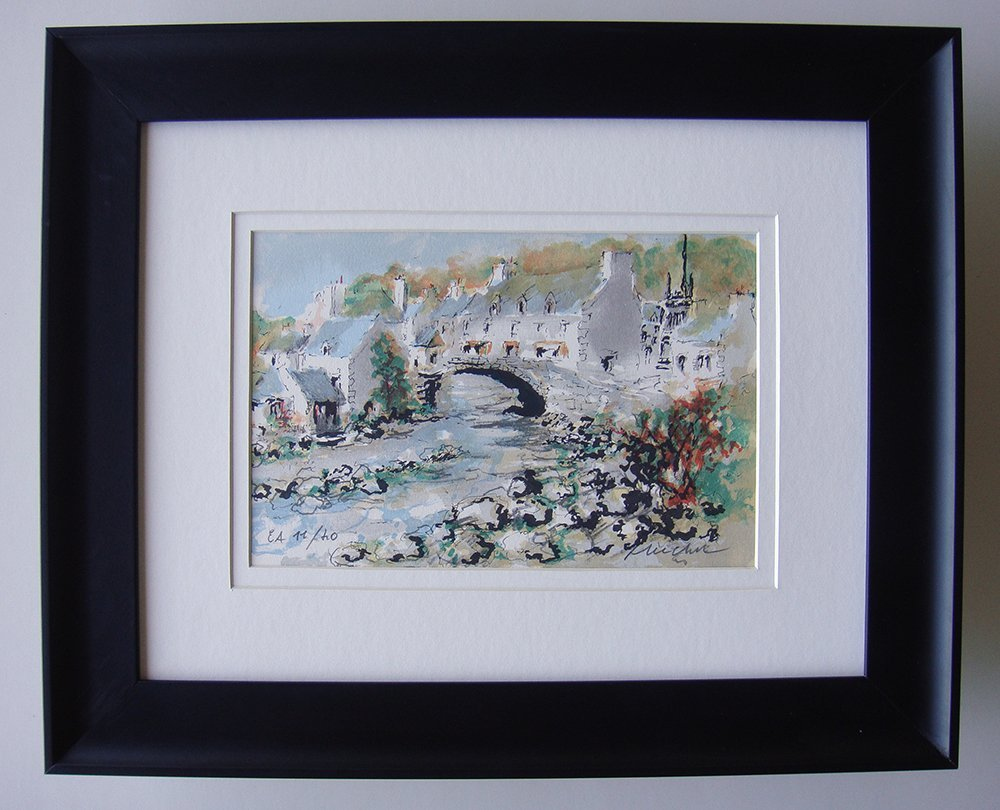 Urbain Huchet signed/numbered lithograph