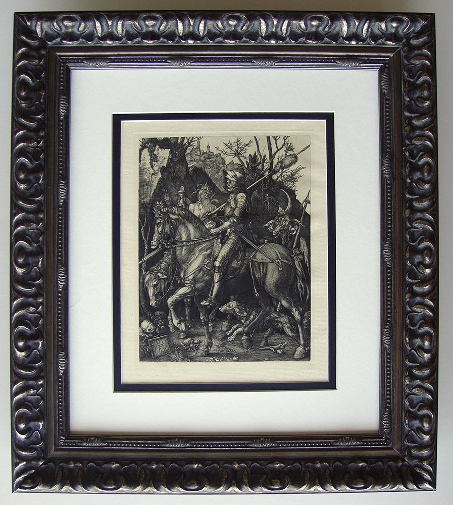 Albrecht Durer Knight, Death and the Devil