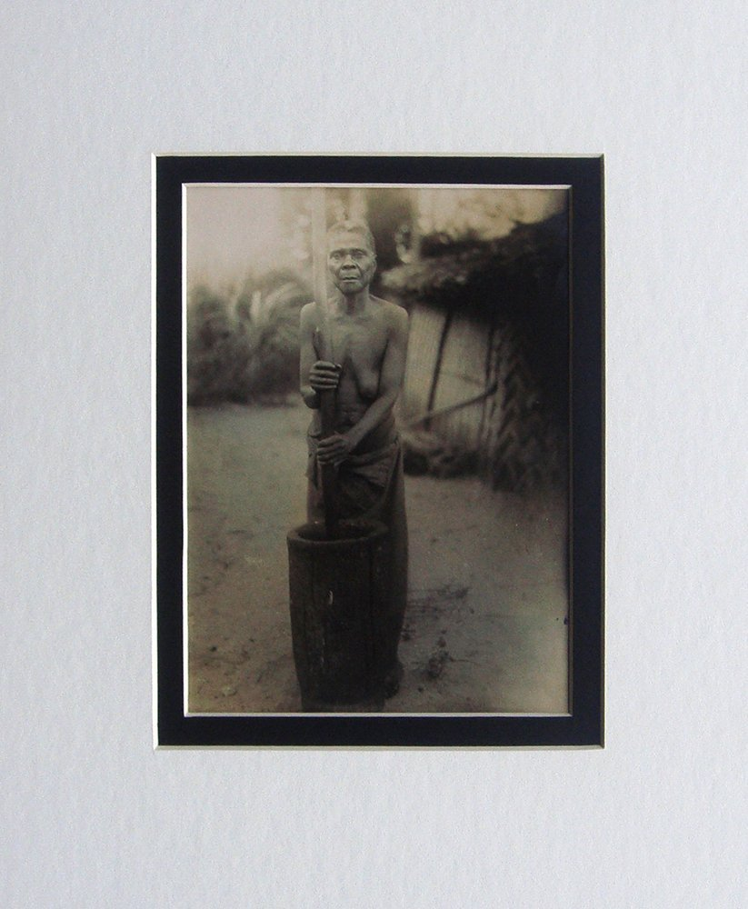 Tribal Woman Liberia photo 1906
