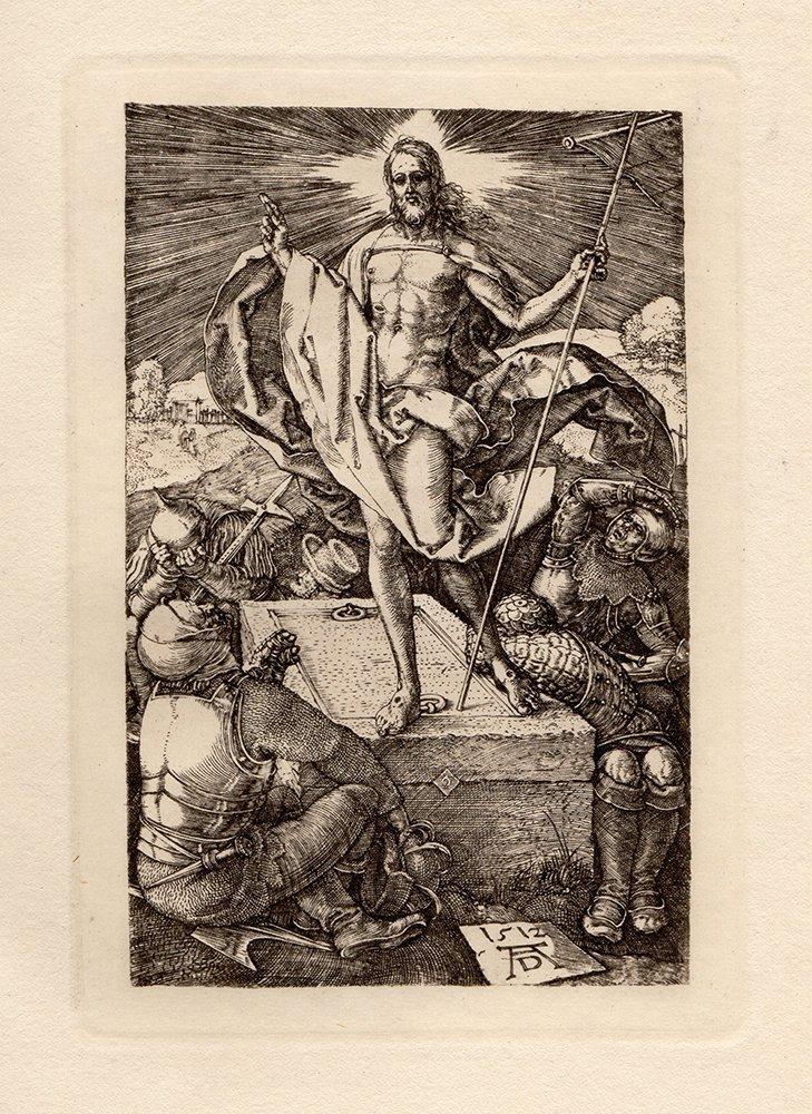 Albrecht Durer Engraved Passion Resurrection