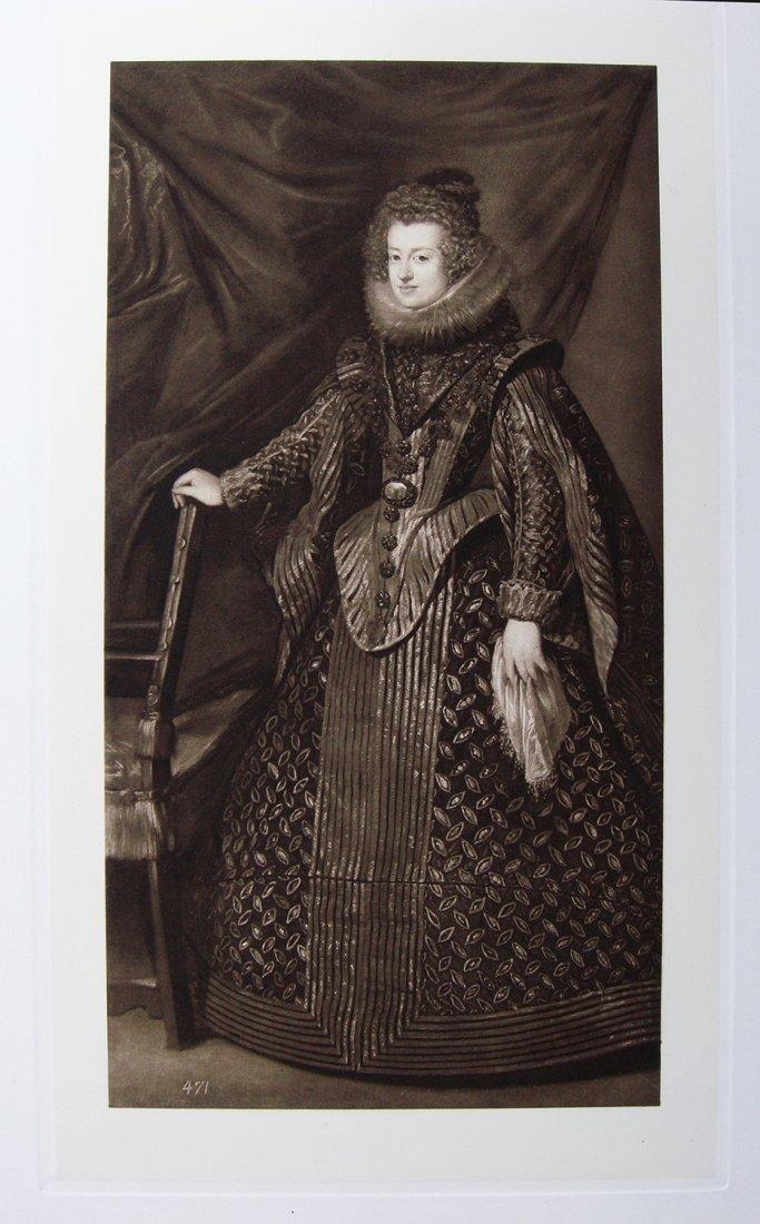 Velasquez 1800's print Sister King Phillip