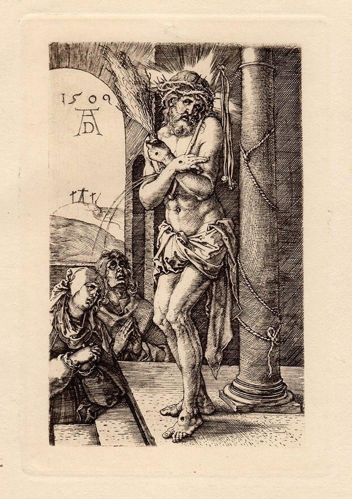 Albrecht Durer Christ Man of Sorrows engraving