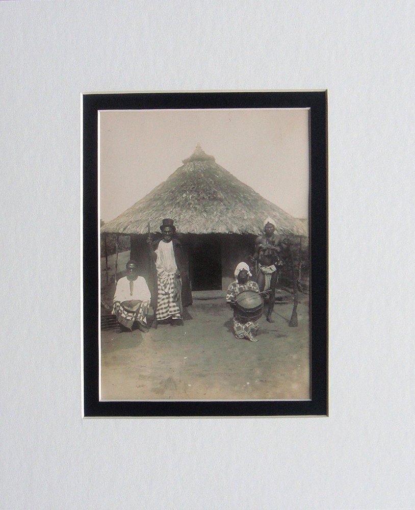Kru Tribal silver gelatin photo 1906