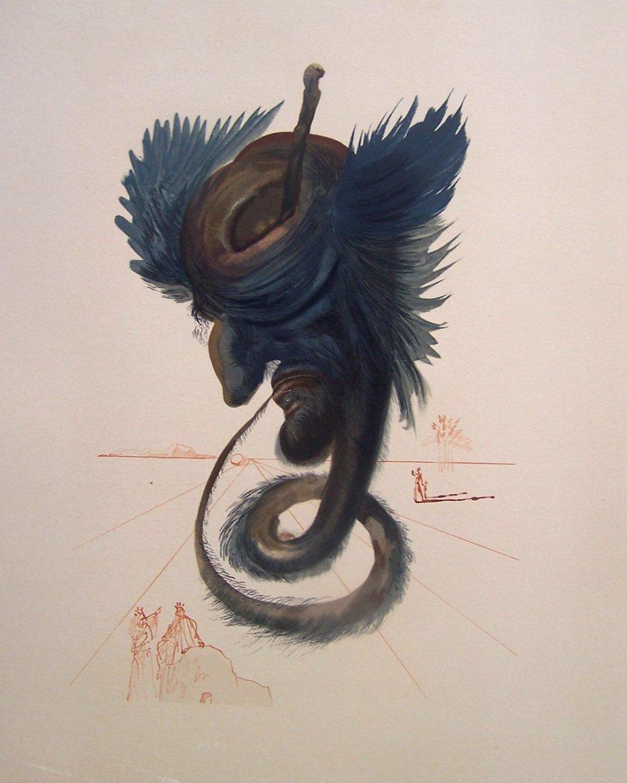 Salvador Dali Divine Comedy Original Woodcut