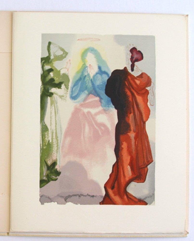 Salvador Dali Divine Comedy Woodcut 1960