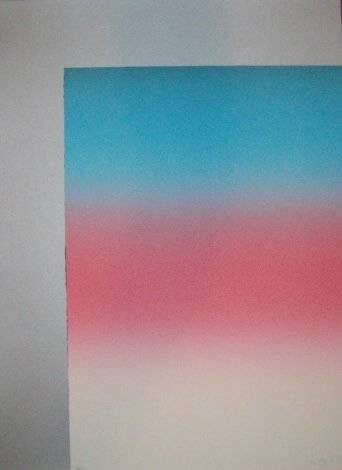 Larry Bell Barcelona 2 Hand Signed Lithograph