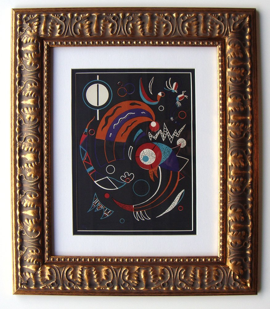 Wassily Kandinsky Comets lithograph signed