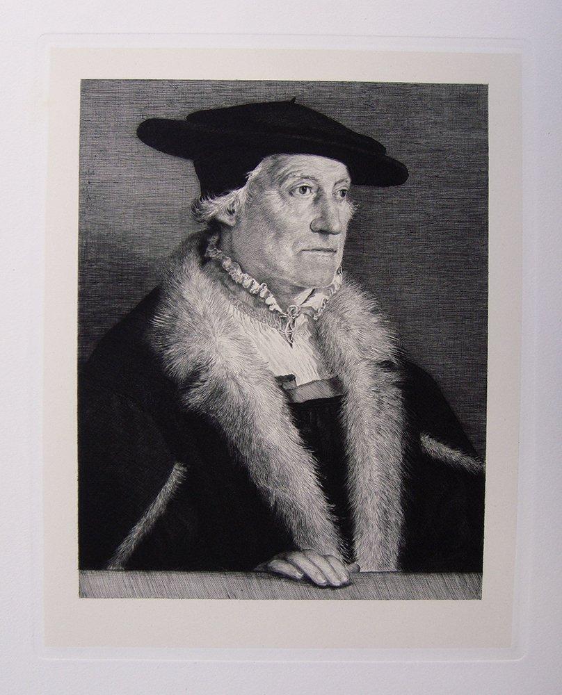 """Amberger """"Portrait of Sebastian Munster"""""""