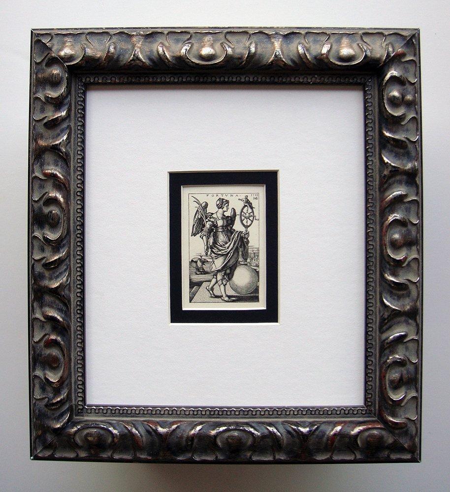 Hans Beham Fortune Engraving Antique 1800's