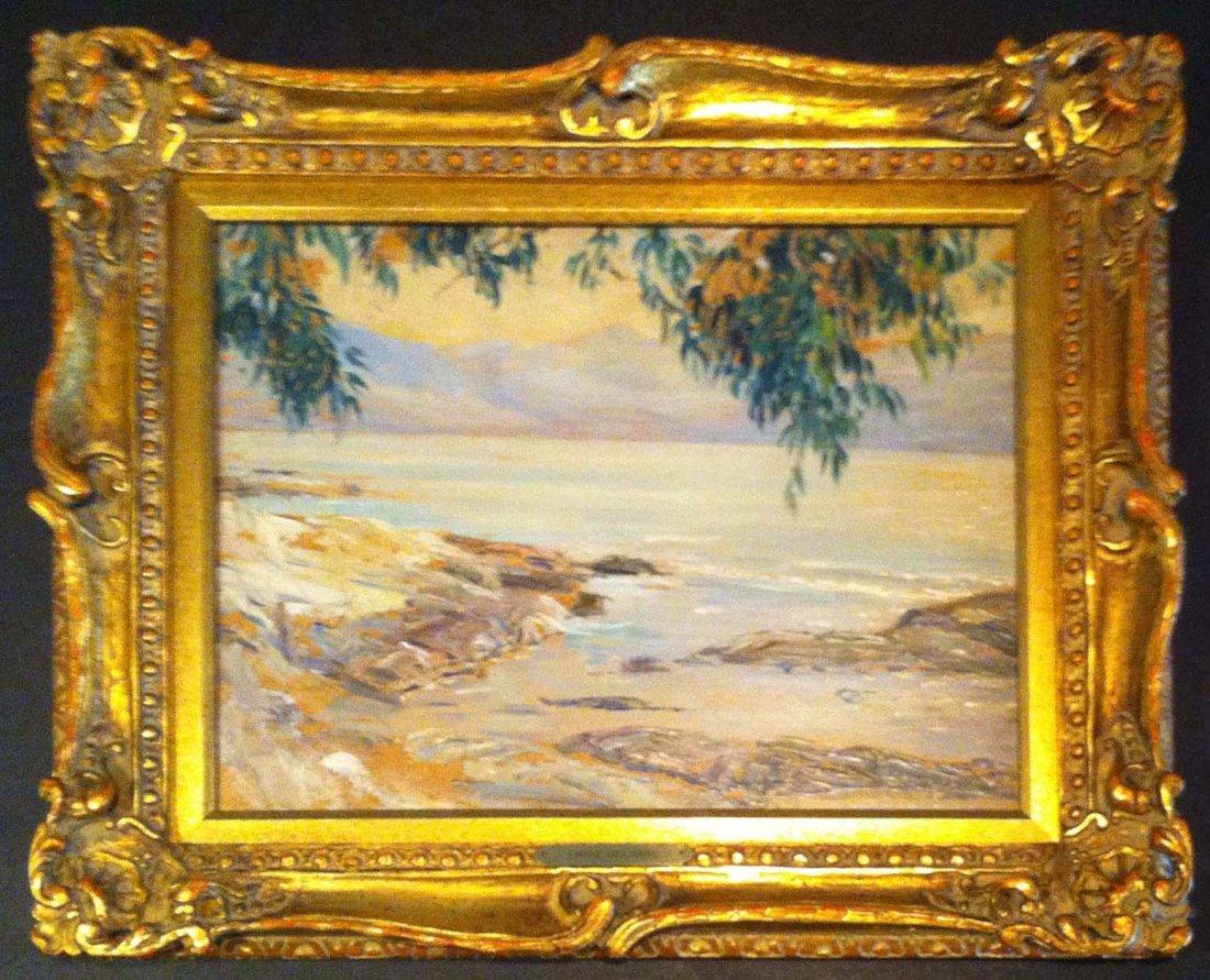 Impressionist Emile Delobre Oil Painting