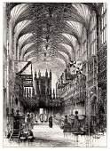 Herbert Railton etching Windsor Castle 1800s