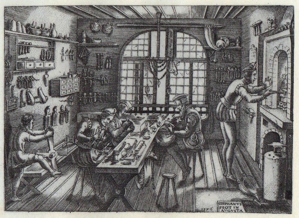Etienne Delaune Goldsmiths Workshop