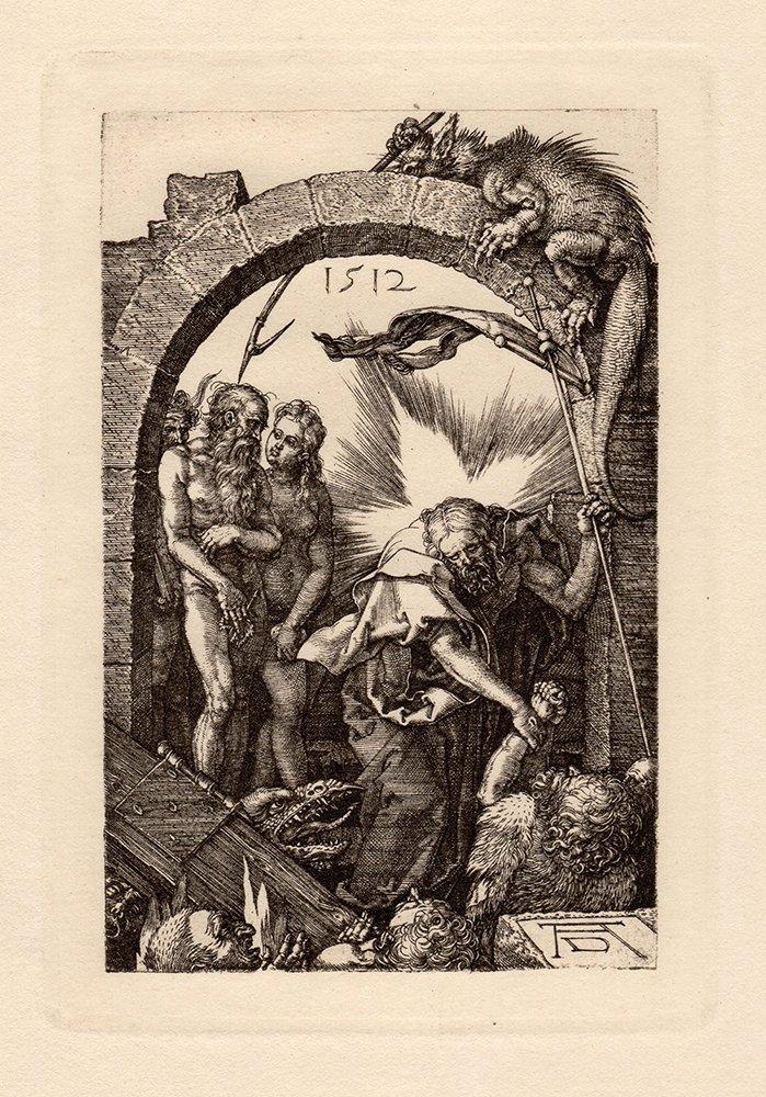 Albrecht Durer Engraved Passion Christ in Limbo