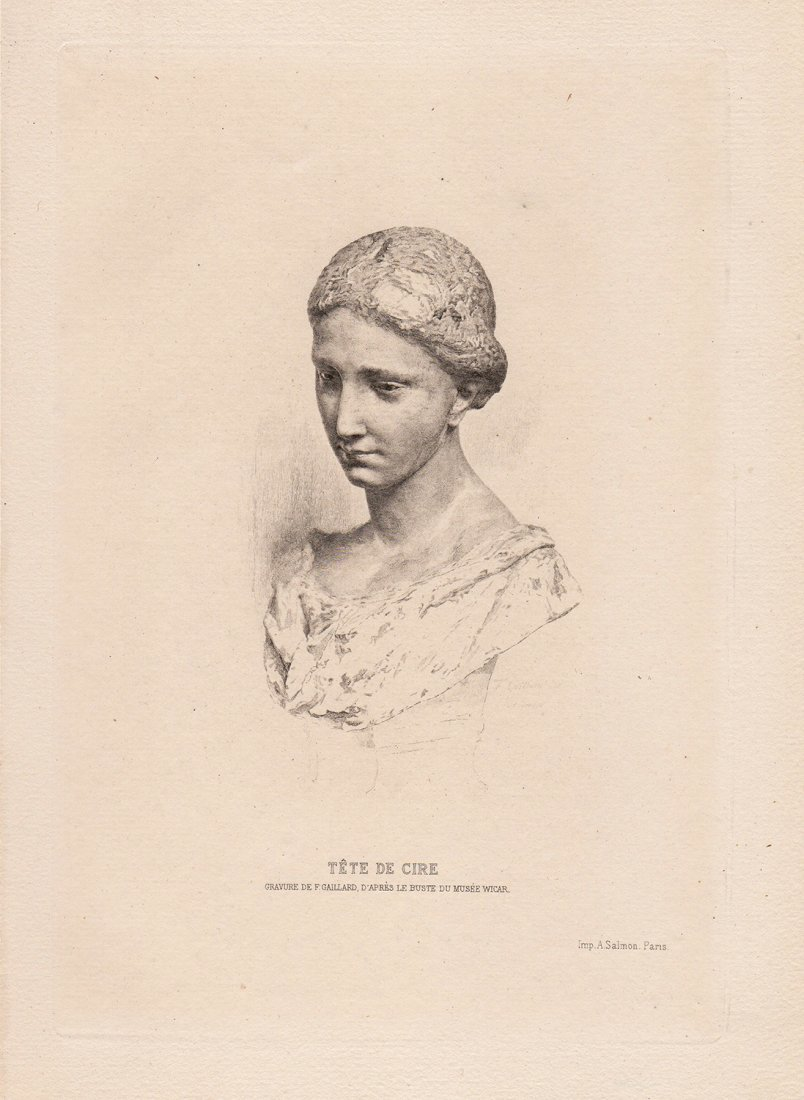 Ferdinand Gaillard antique engraving
